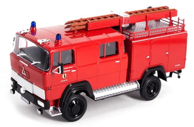Brandweer 1:43 lucky diecast MAGIRUS 170DII BRANDWEER 1978