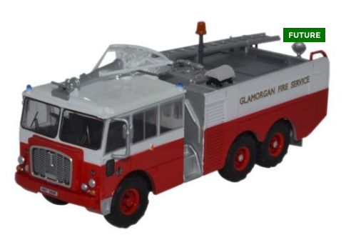 Thornycroft Nubian Major Glamorgan Fire Service - 1:76