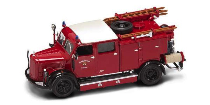 brandweer 1:43 lucky diecast MERCEDES BENZ Brandweer TLF-50 1950