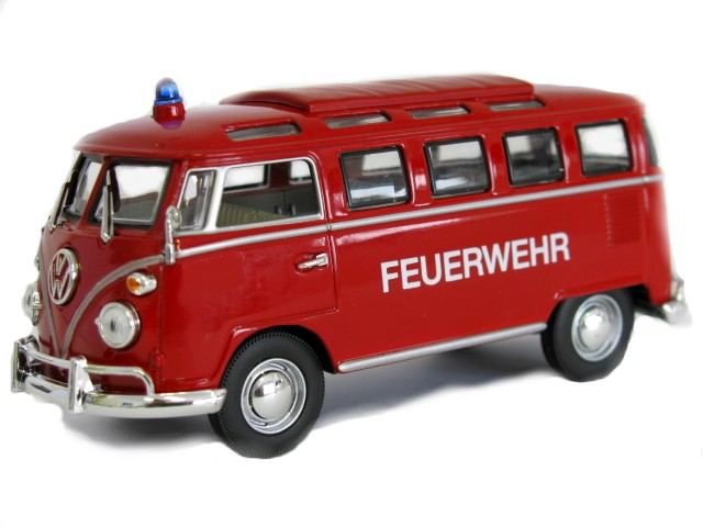 brandweer 1:43 lucky diecast VW T1 brandweer 1962 (D)