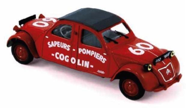 brandweer Norev 1:43 CITROEN 2 CV COGOLIN BRANDWEER 1961